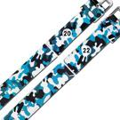 Watchband / 各品牌通用 舒適 輕便 運動 矽膠錶帶 - 迷彩藍色