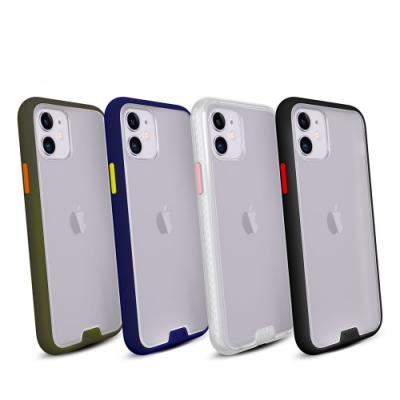 hoda iPhone 11 6.1吋柔石軍規防摔保護殼