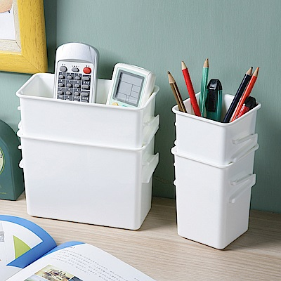 創意達人多多倫萬用分類收納盒(正方深型+長方深型)30入