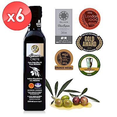 Oleum Crete 奧莉恩特級初榨橄欖油(250ml*6瓶)