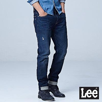 Lee 中腰標準舒適小直筒牛仔褲/101+