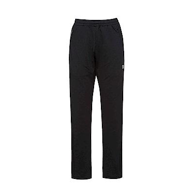 FILA 女款抗UV吸濕排汗針織長褲-黑 5PNS-5317-BK