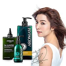 AROMASE艾瑪絲 頭皮淨屑養護3步驟組(淨化洗髮液+去屑洗髮精+精華液)