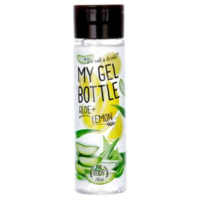 My Gel Bottle 我的肌膚果汁-蘆薈檸檬保濕凝露200ml