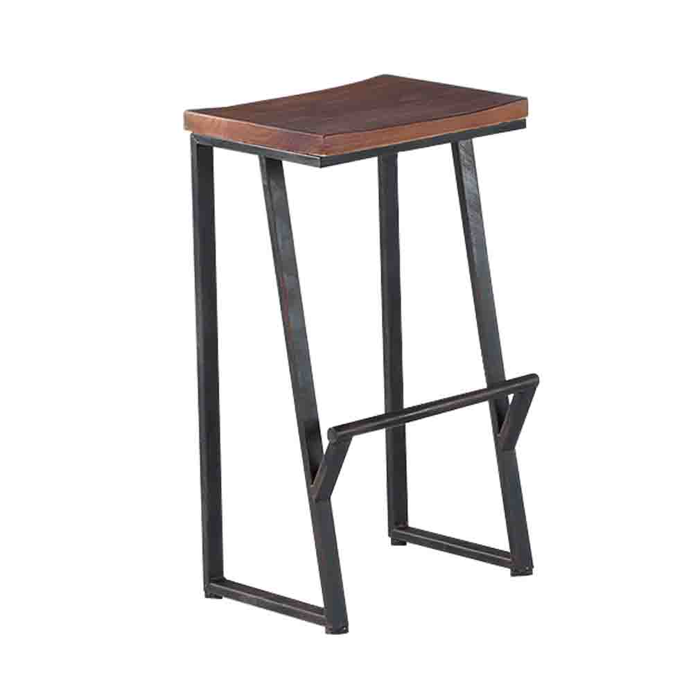 Bernice-班克鐵腳吧台椅/高腳椅-38x30x71cm