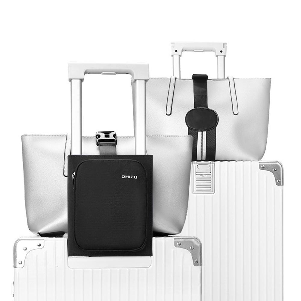 拉桿箱行李固定包 旅行箱打包綁帶 多用途旅行收納包 行李掛扣