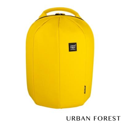 URBAN FOREST都市之森 甲蟲-Skin Touch膚感系列後背包/雙肩包 檸檬黃