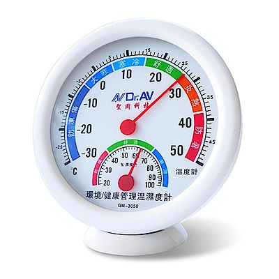Dr.AV 環境/健康管理溫濕度計/2入(GM-3050)