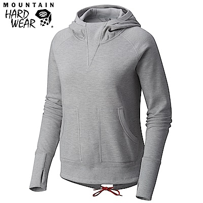 Mountain Hardwear 女款-連帽長袖上衣-灰色 MOL14060GY