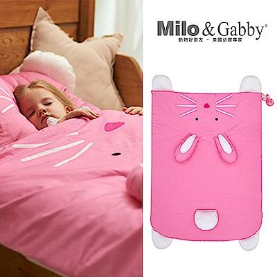 棉被-Milo&Gabby 動物好朋友-立體造型暖暖蓋被 (LOLA兔兔)