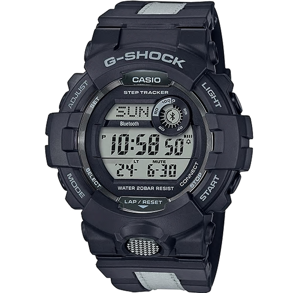G-SHOCK  G-SQUAD 夜間運動錶(GBD-800LU-1)