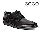 ECCO MELBOURNE 時尚商務風格正裝鞋 男-黑