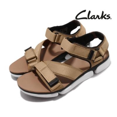 Clarks 涼拖鞋 TriCove Sun 三瓣底 男鞋