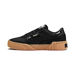 PUMA-Cali Nubuck Wn s女性復古休閒鞋-黑色