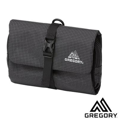 GREGORY 1.5L ORGANISER KIT AL 多口袋收納式旅行收納包(可捲收).打理包.整理袋.化妝包_黑