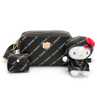 Hello Kitty聯名- 吐司相機包 Trendy Master系列-黑色