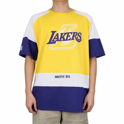 NBA Style C S T-SHIRTS 球隊色系 應援 短袖上衣 湖人隊