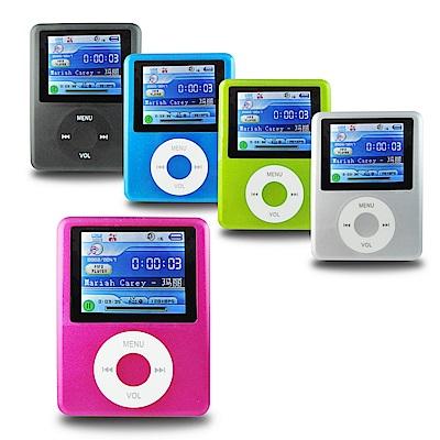DW-B1821C三代胖蘋果 插卡式MP4隨身聽(加16G記憶卡)(送6大好禮)