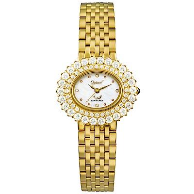 (領券再折600)Ogival愛其華 薔薇系列璀璨時尚真鑽腕錶-多色任選