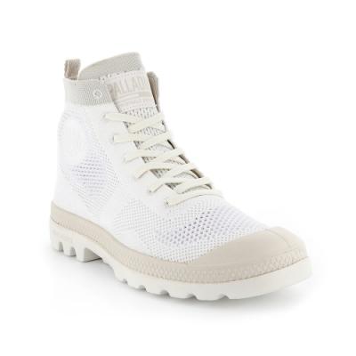 Palladium PAMPA HI LITE 女休閒鞋 白色