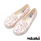 Miaki-防水鞋鏤空印花透氣雨鞋-紫
