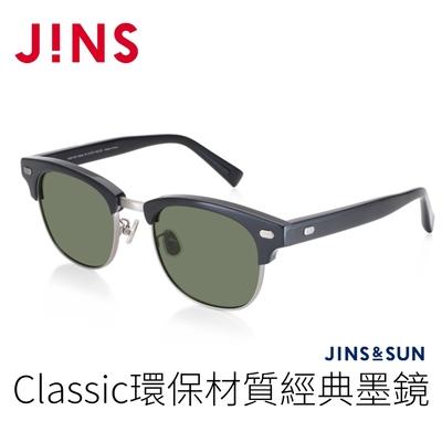 JINS&SUN Classic 環保材質經典墨鏡(AMMF21S140)經典黑