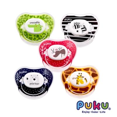 【PUKU】Animal安撫奶嘴2入-較大