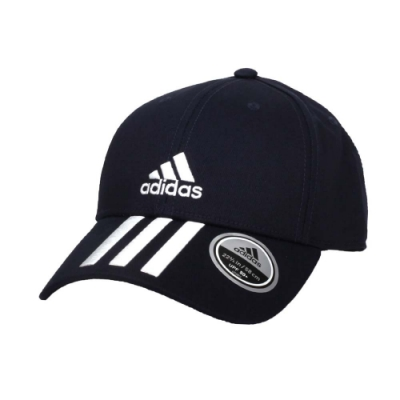 ADIDAS 運動帽-帽子 防曬 遮陽 愛迪達 純棉 GE0750 丈青白