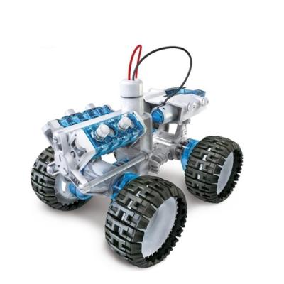 台灣製Pro skit寶工科學玩具 鹽水燃料電池動力引擎越野車GE-752(鹽與鎂的氧化還原反應/毛隙現象)SALT WATER FC ENGINE CAR KIT