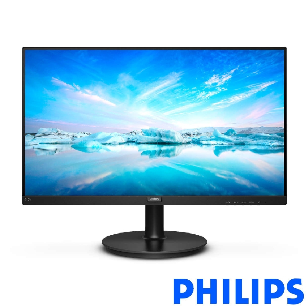 PHILIPS 242V8A 24型 IPS FHD廣視角電腦螢幕 product image 1
