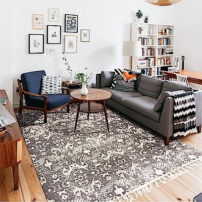 hoi! 薩米爾印度手工地毯80x120cm-個性米 (H014272769)