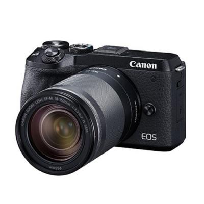 Canon EOS M6 Mark II (M2) 18-150mm KIT -黑色 (中文平輸)