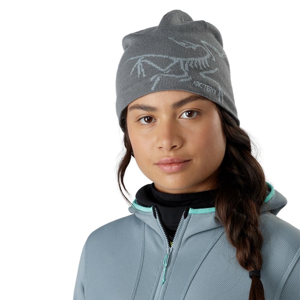 Arcteryx 始祖鳥 Bird Head 保暖針織羊毛毛帽 海神灰/機械灰