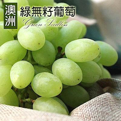 [甜露露]澳洲綠無籽葡萄4斤禮盒