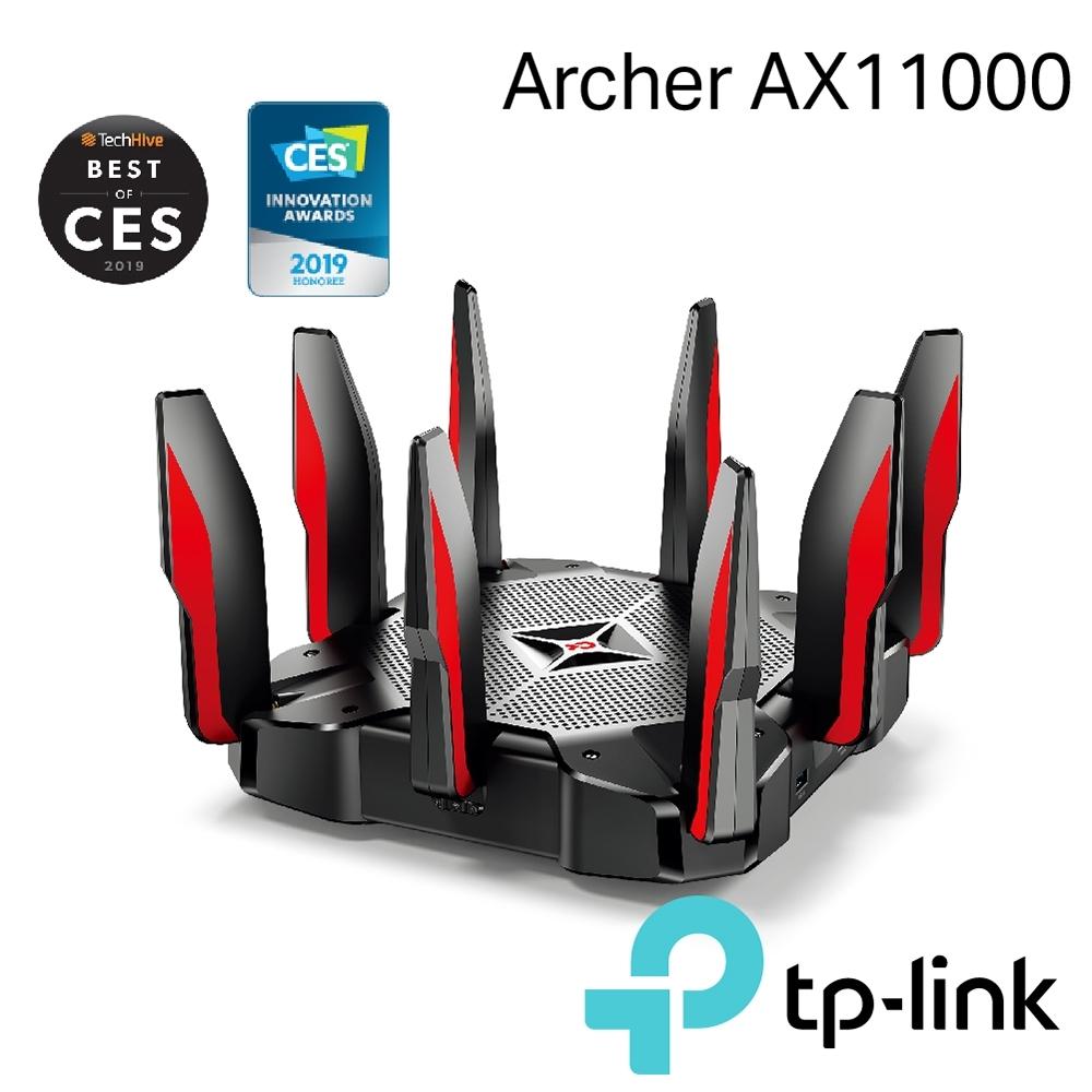 TP-Link Archer AX11000 Giga三頻無線網路wifi電競分享器路由器
