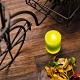 【專屬優惠↘5折起-生活工場】RICH ROSE全蠟充電式LED蠟燭燈中型M號綠色 product thumbnail 1