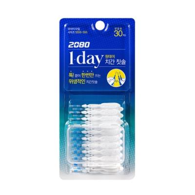 韓國2080 加倍清潔牙間刷30入(兩端SSSS 中間SSS)