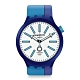 Swatch 奧運系列手錶 BB AI BLUE -47mm product thumbnail 1