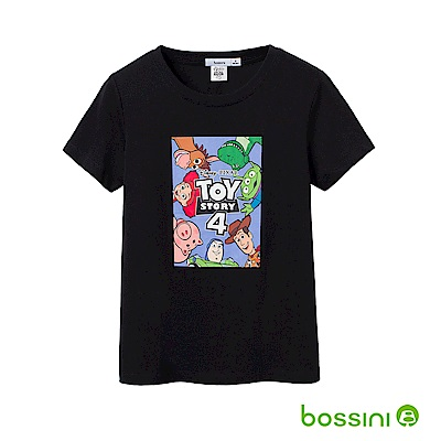 bossini女裝-玩具總動員印花T恤02黑