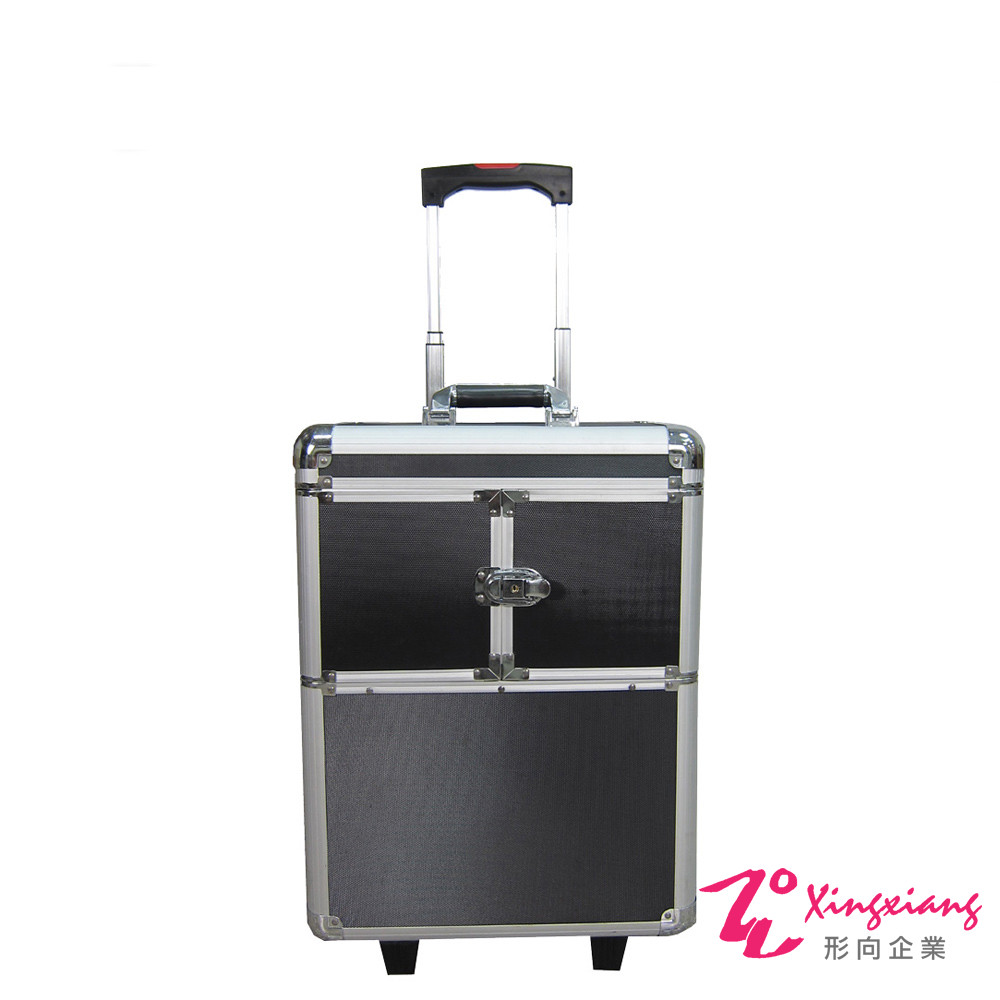 Xingxiang形向 專業拉桿式雙開化妝箱 6K-02