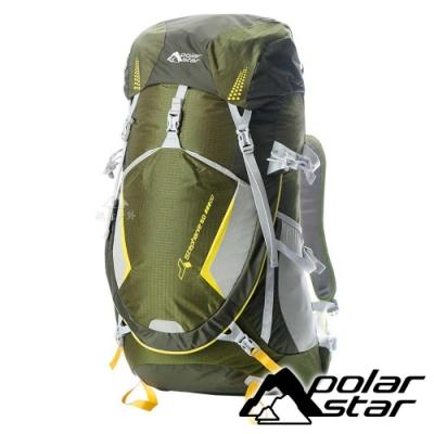 【PolarStar】透氣網架背包50L『綠』P18712