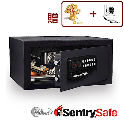 Sentry Safe 美國金庫 刷卡式金庫 (HL100ES)黑