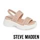 STEVE MADDEN-SUBLIME 輕鬆街頭布面寬帶厚底涼鞋-粉杏 product thumbnail 1