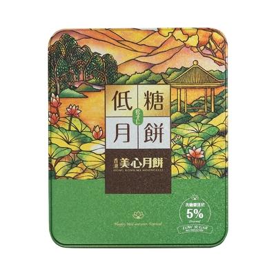 美心 低糖松子仁月餅(90gx6入)