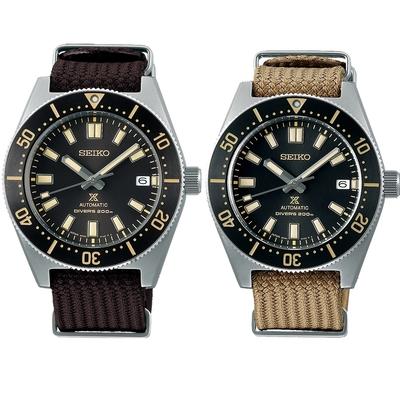 SEIKO 精工 Prospex DIVER SCUBA 1965現代版 200米潛水機械錶 套錶(SPB239J1/6R35-00P0D)
