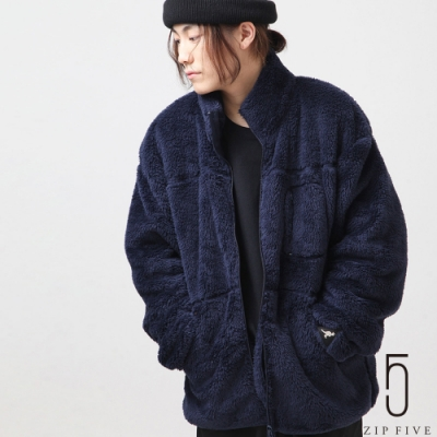 ZIP日本男裝 KANGOL別注袖口刺繡BOA夾克(7色)