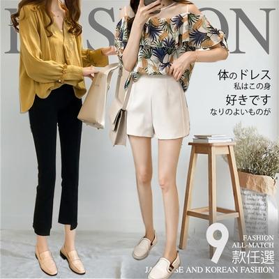 [時時樂]2F韓衣-氣質輕熟風舒適百搭造型上衣-9款任選(M-XL)