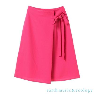 earth music 喬其紗側綁帶一片裙