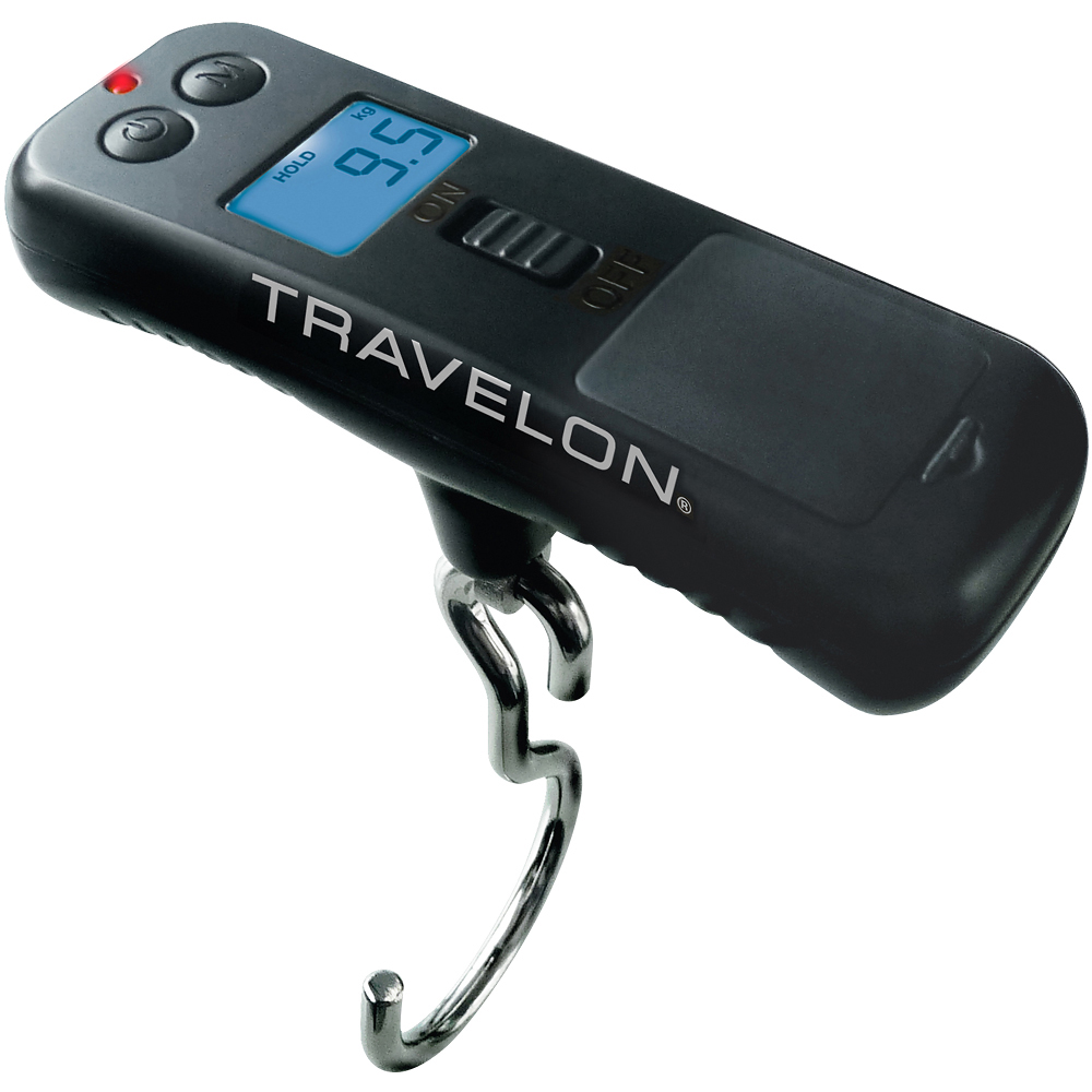 TRAVELON 節能掌心數位行李秤(50kg)