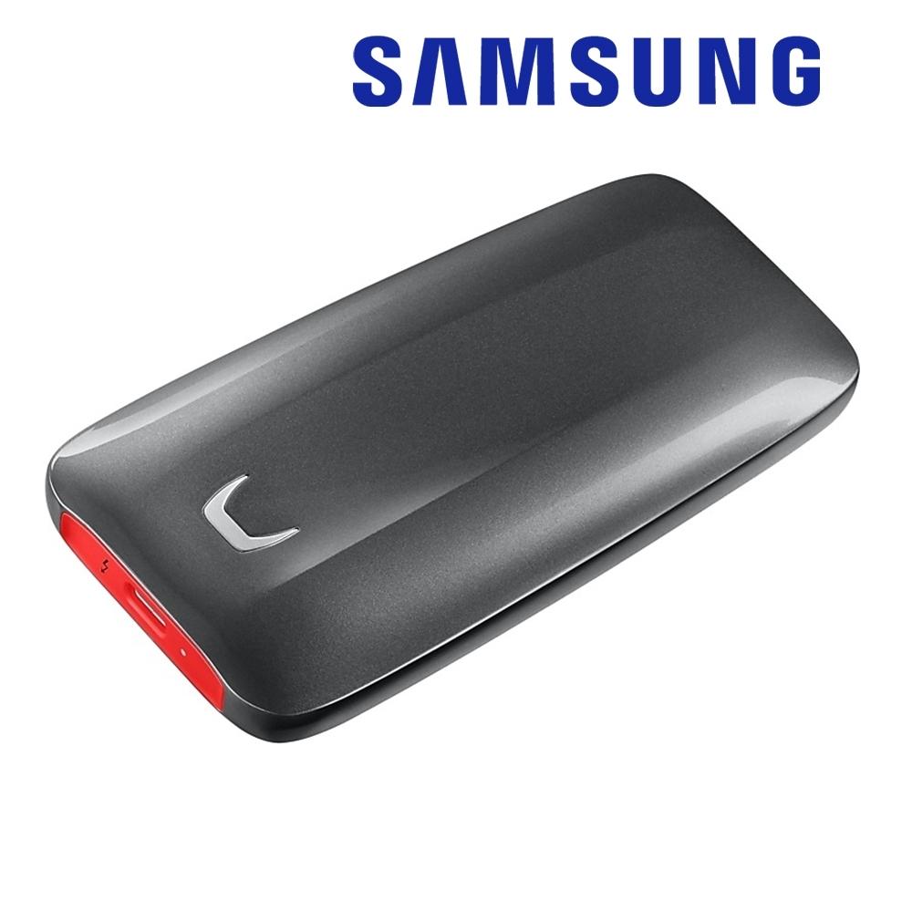 SAMSUNG 三星 X5 1TB Thunderbolt 3 可攜式固態硬碟 (MU-PB1T0B/WW)